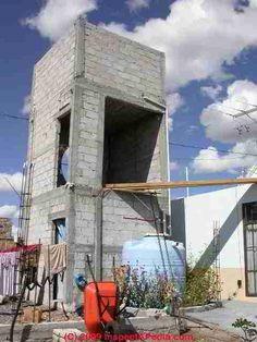 Concrete Water Tank Tower Design Google Search