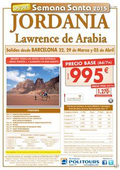 JORDANIA:Lawrence de Arabia salidas 22,29/03 05/04 dsd Barcelona (8d/7n) p.f. 1.270€ ultimo minuto - http://zocotours.com/jordanialawrence-de-arabia-salidas-222903-0504-dsd-barcelona-8d7n-p-f-1-270e-ultimo-minuto-3/