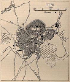 اربيل عام 1944