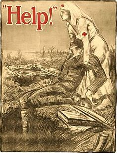 Cry for Help in a Vintage WW1 Recruiting Poster