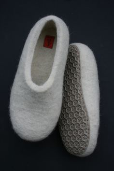 Felt slippers by Filzi Felti                                                                                                                                                                                 More