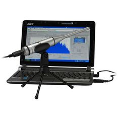 Dayton Audio OmniMic V2 Precision Measurement System with FREE Bonus Items - includes Test DVD, Microphone Stand with Boom and Hat. #audiophile #measurementtool #partsexpress #daytonaudio #omnidirection #acoustics