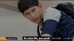 Kim Soo Hyun - screenshot Producers  I thought his growl here was one of the funniest moments in the series