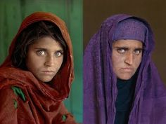 this has always made me so very sad. She was so very very beautiful, then the pains and terrors and hard living of Afghanistan ruined that pretty face...