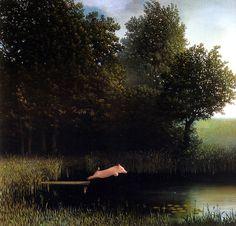 Michael Sowa, peintre.