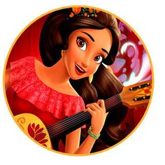 Instant Download Elena of Avalor Toppers by Creativeartprintable