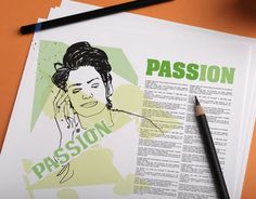 Passion / Test Print