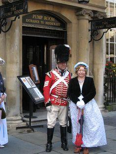 029 England Bath Jane Austen Festival Regency Costume Promenade 555 by lbear01, via Flickr