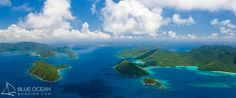 Ariel view of #StJohn and the #BVI. We can help you plan the best day of your #vacation!
