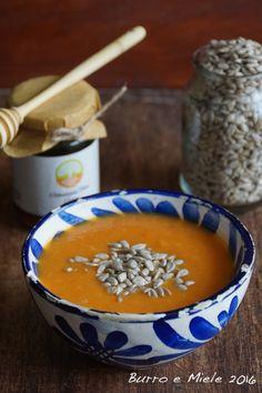 Il passato di carote e zucca arrostite al miele di Eleonora e Michael