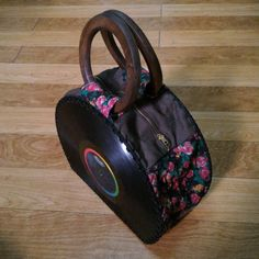 Unique Handmade Vinyl Record Handbag with Wooden Handles, Upcycled Vinyl Record Bag, Vinyl Record Purse, Top Handle Vinyl Record Bag Easy Hobbies, Cheap Hobbies, Hobbies For Women, Hobbies To Try, Hobbies That Make Money, Record Crafts, Hobby Lobby Christmas, Hobby Photography, Diy For Men