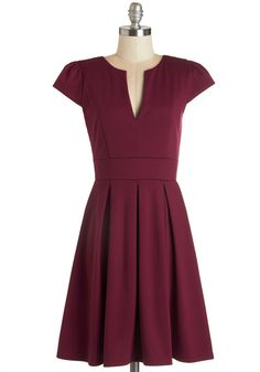 Meet Me at the Punch Bowl Dress in Berry, #ModCloth $54.99
