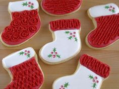 Christmas Sugar Cookies - Stockings