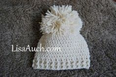 #Crochet Simple Baby Hats that are winners for the upcomin craft fair season