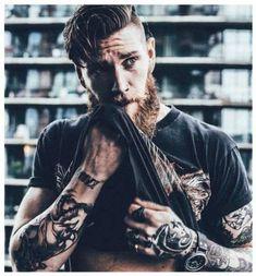 30+ Ideas Hair Men Tatto Man Bun #hair