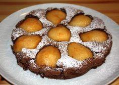 Hruškovo čokoládový koláč