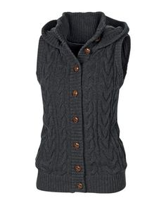Erin Cable Gilet - My autumn treat for myself.