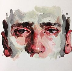 Acrylic study by Elly Smallwood Painting Inspiration, Art Inspo, Art Sketches, Art Drawings, Pencil Drawings, Elly Smallwood, Art Watercolor, Arte Sketchbook, Portrait Art