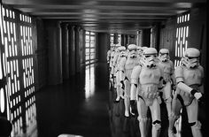 anh marching stom troopers Obi Wan behind 01