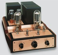"""New Audio Frontiers - Ref. 845 SE , High End Integrated Tube Amplifier"" !...  http://about.me/Samissomar"