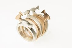 Bronze and Silver Rings Aquarium  Collection