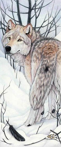 Art of Golden Wolf
