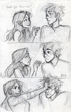 how the book Harry and Ginny should be