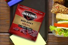 Jack Link's Original Multi-Pack Bags 5-Count as low as $4.94! Best Amazon Deals, Amazon Sale, Grocery Deals, Lunch To Go, Beef Jerky, Counting, Protein, Money, Group