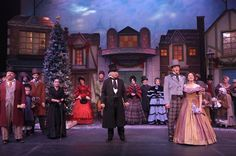London production A Christmas Carol photos | Stage Door: A Christmas Carol: The Musical @ Arvada Center | 303 ...
