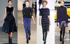 Fashion Trend Black and Blue