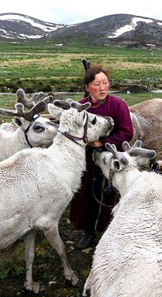 Tsaatan Nomads . Mongolia