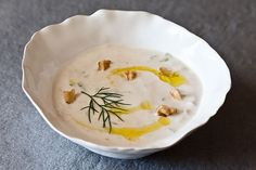Yogurt Soup with Cucumbers and Walnuts (Tarator) recipe on Food52