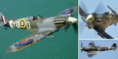 An iconic figure of the Second World War, the Supermarine Spitfire was the only aircraft that could really rival the German fighters, especially during the Battle of Britain.