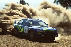 Subaru Impreza WRC98 of Piero Liatti at 1998 Rally Portugal