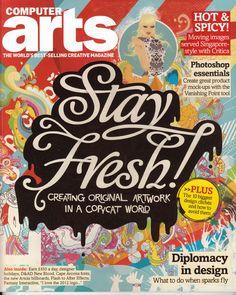 computer arts magazine cover