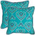 Alpine 20-inch Aqua Blue Decorative Pillows (Set of 2)