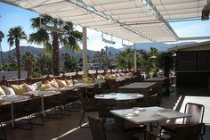 Tommy Bahamas Rooftop dining El Paseo, Palm Desert, Ca.