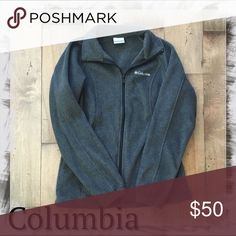Columbia Three Lakes Fleece Jacket S Charcoal Gray New without tags!  🍂Count on this Columbia jacket for your cool-weather needs. Its soft fleece construction keeps you warm and comfortable all year round.☕️  PRODUCT FEATURES Standup collar Zip front Long raglan sleeves with elastic cuffs Unlined 2-pocket FIT & SIZING Drawstring hem Princess seams FABRIC & CARE Polyester Machine wash Columbia Jackets & Coats