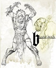 Masters of the Universe - Beast Man by Marko Djurdjevic
