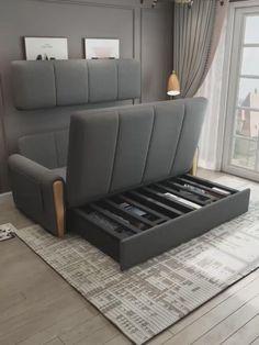 Sofa Cumbed Design, Living Room Sofa Design, Bedroom Bed Design, Bedroom Furniture Design, Home Room Design, Home Living Room, Wood Bed Design, Wood Furniture Living Room, Modern Furniture