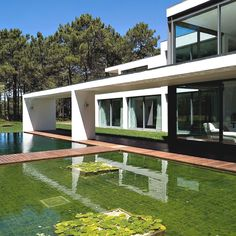 Relaxing view Casa Do Lago Exciting Residential Project Underlining Serenity: Casa Do Lago in Portugal