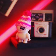 #streetwear #fashion #beanies #camera #retro #pink #white #stripes #audiobot #audiobots #audiobotsrock #audio #music