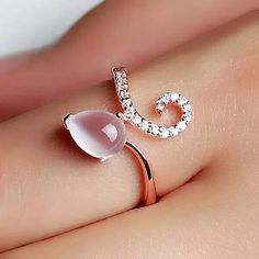 Water drop ring.