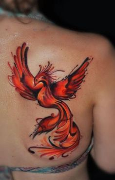 Tattoos Phönix, Fenix Tattoos, Neue Tattoos, Back Tattoos, Body Art Tattoos, Girl Tattoos, Small Tattoos, Tattoos For Guys, Sleeve Tattoos