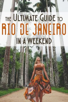 Rio is truly a magical city; known for its Copacabana and Ipanema beaches, the Christ the Redeemer statue atop Mt. Corcovado, Sugarloaf Mountain, and its Carnival festival, the seaside city is lively, to say the least! I've compiled a guide based off the things I loved, and suggestions I got from readers all over the world!