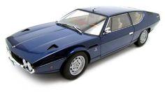 Lamborghini Espada Blue 1/18 Diecast Car Model Autoart by Autoart. $109.99. Made of diecast Opening doors Opening hood Opening trunk Wheels roll Steerable wheels Comes in window box Approximate Dimensions: L-10.5, W-4, H-3.5