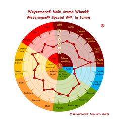 Weyermann® Malt Aroma Wheel® Special W® - la farine