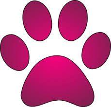 Resultado de imagem para fundo rosa pegada cachorro