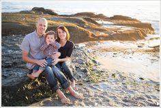 Aliso Beach Laguna Beach Holiday Family Photos Sunset Rocks Asea Tremp Photography