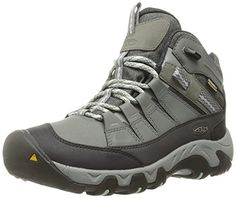 KEEN Womens Oakridge Mid Polar WP Boot Moon MistDesert Sage 8 M US -- More info could be found at the image url.(This is an Amazon affiliate link and I receive a commission for the sales)